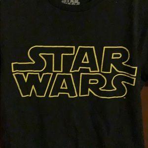 Boys Small STAR WARS Short Sleeve Shirt